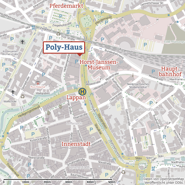 Poly-Haus OpenStreetMap