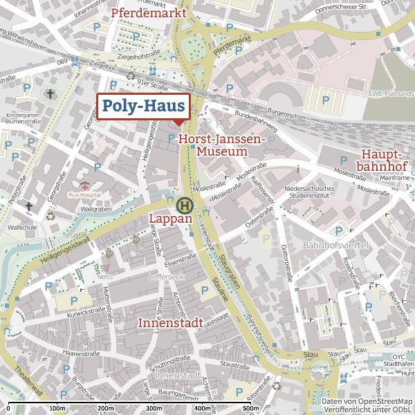 Poly-Haus OpenStreetMap