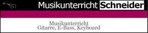 Musikunterricht Schneider